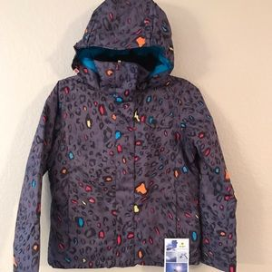❄️ NWT🏷 ROXY Girls Snowboard jacket ❄️